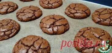 """Шоколадное печенье """"Брауни"""" Кулинарный рецепт"""