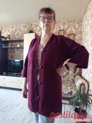 Кардиган, или готовь сани с лета - Вязание спицами - Страна Мам
