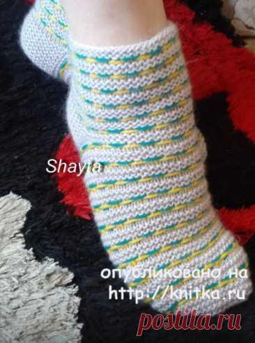 Носочки от Shayta спицами, Вязание для женщин