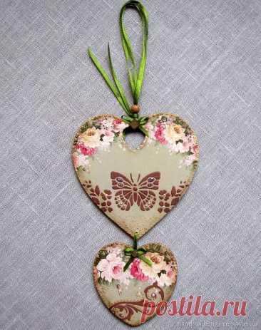 Подарки на 14 февраля: Подвески сердечки – купить на Ярмарке Мастеров – NKWQGRU | Подарки на 14 февраля, Москва
