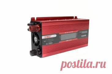 Автомобільний перетворювач напруги 12V-220V з LCD дисплеєм інвертор 1000W | f-china.com.ua