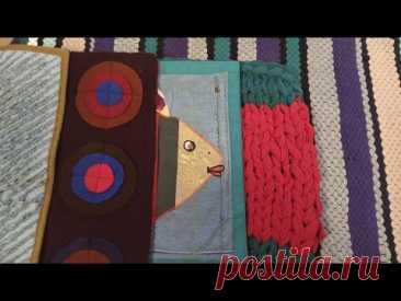 5 супер идей ковриков ручной работы из лоскутов и ненужных вещей