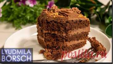 Свекровь научила. Шедевральный торт из самых простых продуктов. Теперь все кто пробуют просят рецепт.   Вкусный рецепт от Людмилы Борщ   Яндекс Дзен