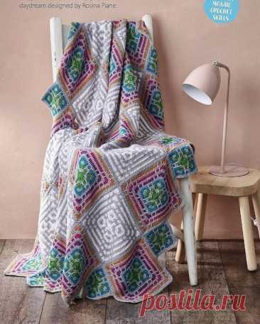 И всё-таки, она классная. Вяжем сумку по японским схемам  crochet bag.