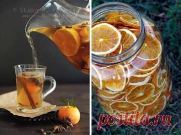 Ароматный апельсиновый чай со специями – вкусно и полезно!