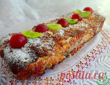 Яблочный пирог из слоеного теста – кулинарный рецепт