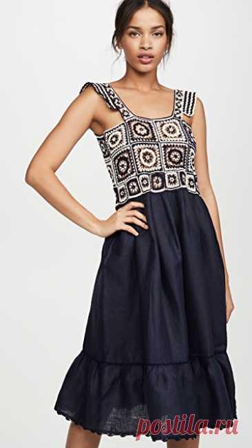 Carolina K Связанное крючком платье Kuna | SHOPBOP
