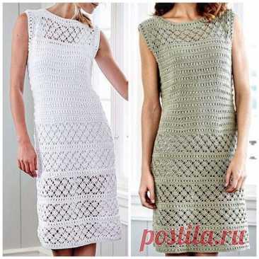 Узоры для платья, кофты, юбки