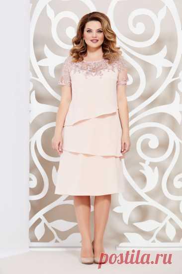 Платье Mira Fashion 4635-7 купить с доставкой по России | Интернет-магазин BelaRosso-shop.ru