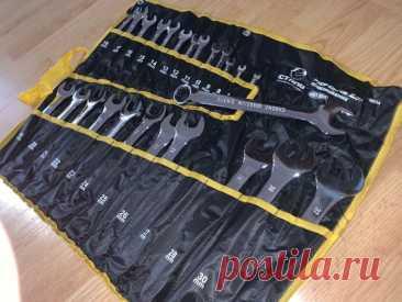 Качественный набор комбинированных рожково-накидных ключей 25 ед 6-32: 900 грн. - Ручной инструмент Песочин на Olx