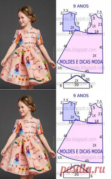 ¡12 modelos de la ropa para los chiquitines con los patrones!