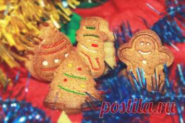 Рождественское имбирное печенье — MEGOCOOKER
