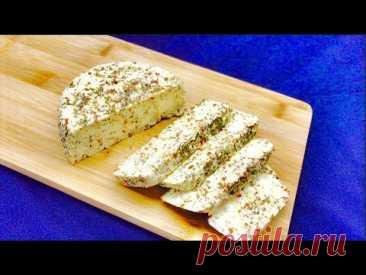 Вы больше не будете покупать сыр. Пикантный домашний сыр. Попробуйте! #56