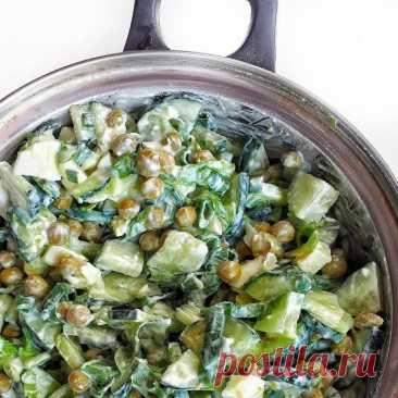 Необычный и вкусный салатик на ужин