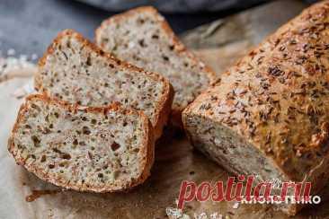 Овсяный хлеб с тмином: простой рецепт от Евгения Клопотенко Хочу поделиться с вами рецептом невероятно вкусного овсяного хлеба с тмином. Хлеб получается очень пышным, а семена подсолнуха, кунжута и тмин придают невероятного аромата.