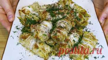 🌸 Голубцы теперь готовлю из пекинской капусты и запекаю в духовке (получаются нежнее, чем из обычной и готовить проще)