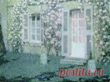 Теплые уютные пастельные пейзажи. Художник Анри ле Сиданэ / Henri Le Sidaner (Франция, 1862-1939)
