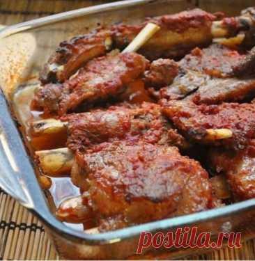 Рёбрышки свиные из духовки