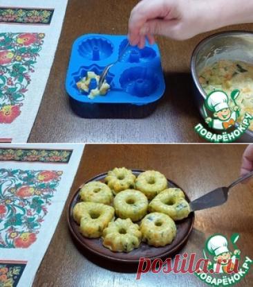 Овощные мини запеканки из кабачков – кулинарный рецепт