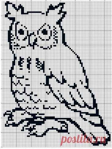 Schemes for fillet knitting