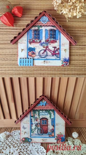 Ключницы настенные Проваские дворики – купить на Ярмарке Мастеров – MNSIURU | Ключницы настенные, Москва