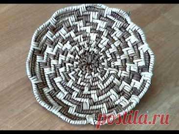 мк тарелки корневым плетением