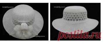 El sombrero de señora el Lirio blanco