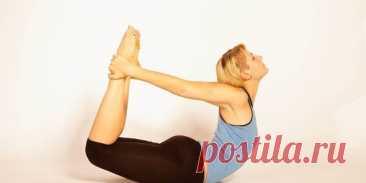 Женщинам 40+ обязательно! «Поза лука» и еще 5 упражнений, которые...