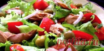 5 лучших салатов для вкусного ужина!