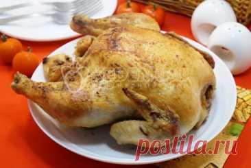Вкусная курица в духовке Самый простой рецепт приготовления вкусной курицы в духовке. Без хлопот и лишних ингредиентов Вы сможете приготовить ароматную курицу с золотистой корочкой в духовке.