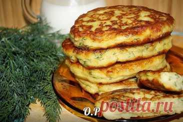 Рецепт дня: картофельные оладьи с грибами – вкусно и сытно!