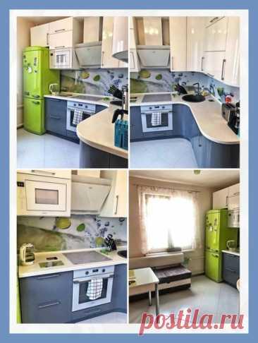 Все о дизайне интерьера Ρемонт кухни в маленькой хрущевке!