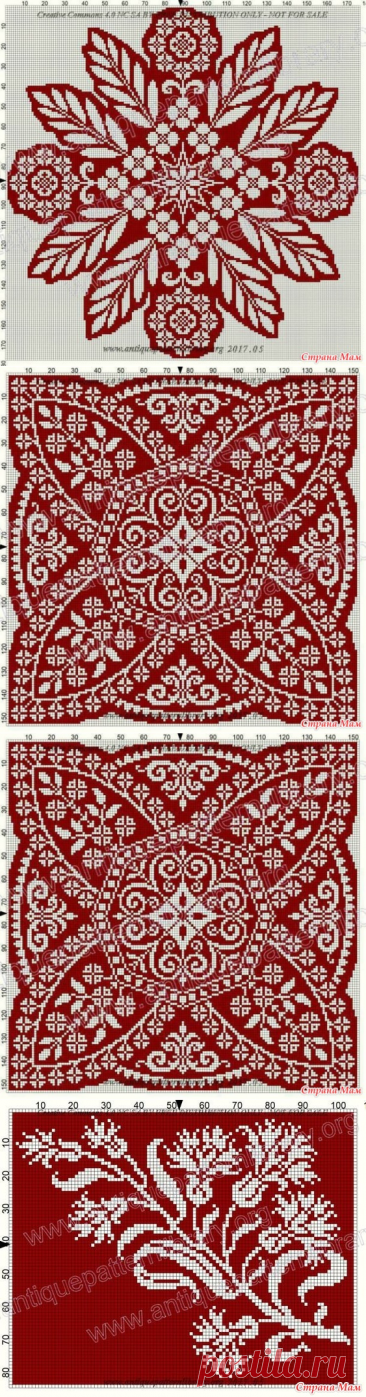 Interesting ornaments, continuation - Jacquard - the Country of Mothers
