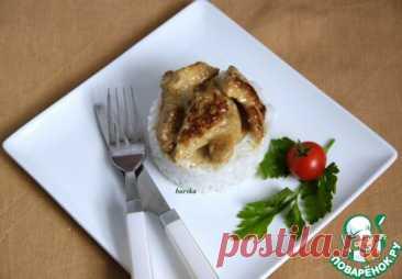 Обрезки индейки в сливочно-бальзамическом соусе – кулинарный рецепт
