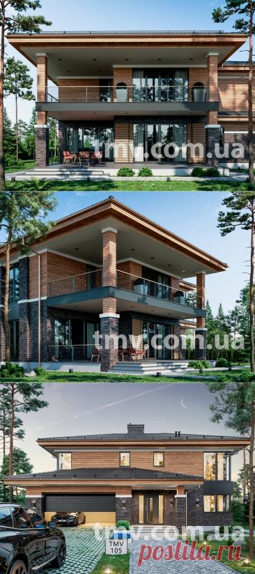 TMV 105 | TMV - Дома для Всех, Проекты домов и проекты коттеджей - купить и заказать проект Киев Украина