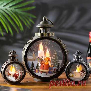 Новогодняя светодиодная гирлянда с Санта-Клаусом и оленем, Рождественское украшение для рабочего стола, Рождественское украшение для дома, 2022, Рождественский Декор, 2021 | Дом и сад | АлиЭкспресс