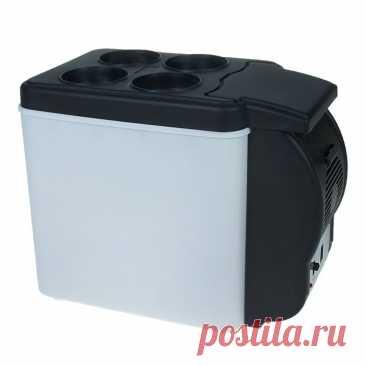 4972.0руб. |Холодильник автомобильный 6 литров, 12V,с функцией подогрева, ЧЕРНО БЕЛ|Автомобильные холодильники|   | АлиЭкспресс Покупай умнее, живи веселее! Aliexpress.com
