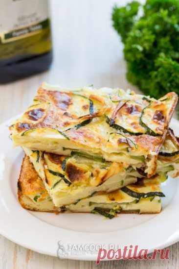 Скарпачча (итальянский пирог с цукини) — рецепт с фото пошагово