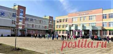 2021 апрель. Новая школа на 1100 мест открылась в Армавире Краснодарского края