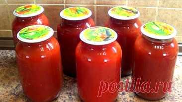 Томатный соус по-турецки (без уксуса и сахара)