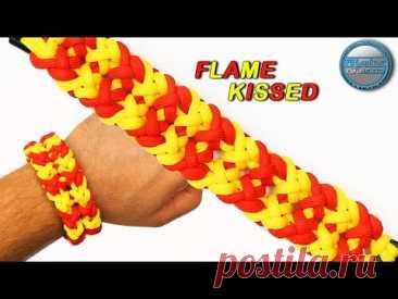 Как сделать браслет из паракорда, поцелованный пламенем World of Paracord Tutorials DIY