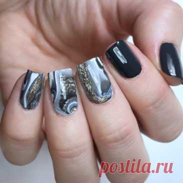 Маникюр стального цвета фото: Серебристый маникюр 2021: фото, новинки дизайна ногтей — «Семья и Школа»