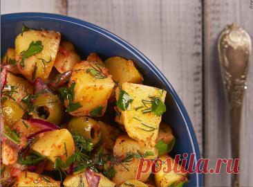 Этот турецкий картофельный салат стал нашим любимым гарниром к мясу. Делюсь рецептом моей подписчицы из Стамбула   Репчатый Лук   Яндекс Дзен