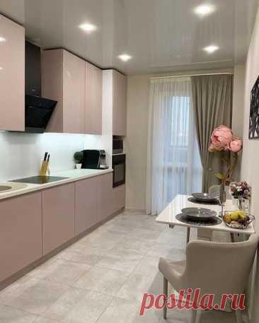 Лаконичный дизайн кухни