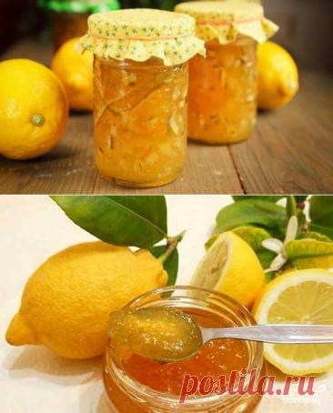 Уже много лет готовлю это невероятно ароматное и полезное варенье из лимона - be1issimo.ru