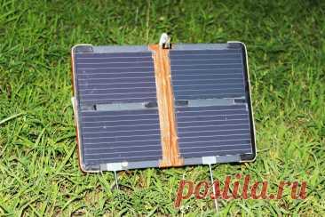 Самодельная солнечная панель из старой техники | Рукастый Самоделкин | Пульс Mail.ru Самодельная солнечная станция для полевых условий и не только.