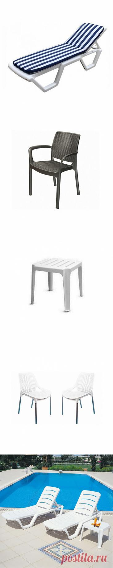 Хит летних продаж - уличная мебель из ДПК и пластика!