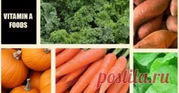 Продукты, в которых содержится больше витамина А, чем в морковик