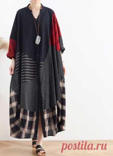 Women Shirt Dress Loose Coat dress Oversized V collar dress   Etsy