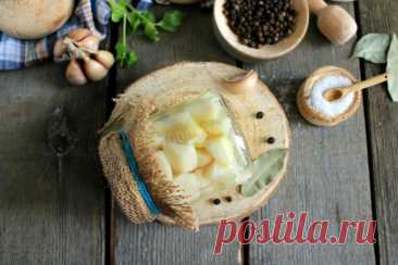 Соленый чеснок рецепт с фото пошагово и видео - 1000.menu